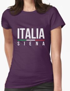 Siena Italia  Womens Fitted T-Shirt