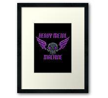 Heavy Metal Machine Framed Print