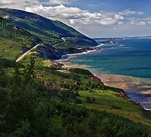 Cape Breton Highlands by Kathy Weaver