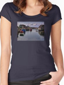 Peggy's Cove - Nova Scotia Women's Fitted Scoop T-Shirt