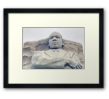 Martin Luther King Memorial Framed Print