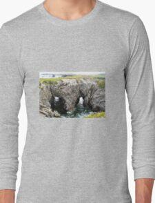 Canadian Landscapes - Water Bridge Long Sleeve T-Shirt