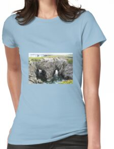 Canadian Landscapes - Water Bridge Womens Fitted T-Shirt