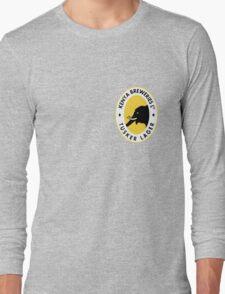 TUSKER LAGER BEER KENYA T SHIRT (SMALL LOGO) Long Sleeve T-Shirt