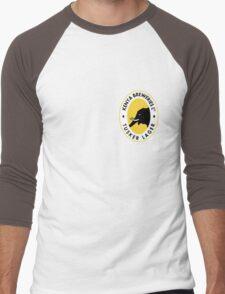 TUSKER LAGER BEER KENYA T SHIRT (SMALL LOGO) Men's Baseball ¾ T-Shirt