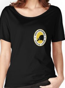TUSKER LAGER BEER KENYA T SHIRT (SMALL LOGO) Women's Relaxed Fit T-Shirt