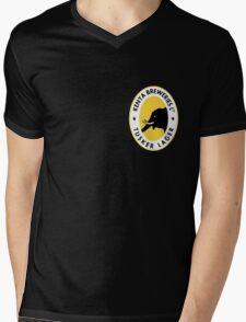 TUSKER LAGER BEER KENYA T SHIRT (SMALL LOGO) Mens V-Neck T-Shirt