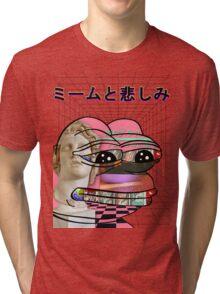 Memes and Sadness Tri-blend T-Shirt
