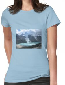 Canadian Landscapes - Mountains Womens Fitted T-Shirt