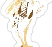 bird skeleton, bird anatomy Sticker