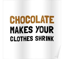 Chocolate Shrink Poster