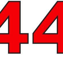 #44 Sticker