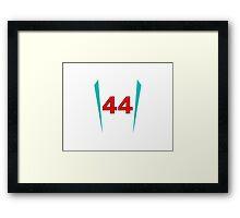#44 Framed Print