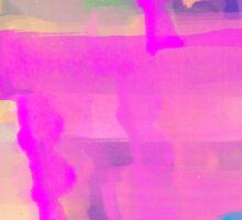 Watercolor Abstract Vivid Colorful Pop Sticker