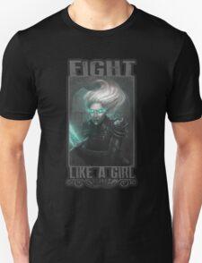 Chrysalis - Fight like a girl Unisex T-Shirt