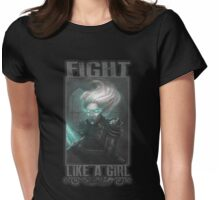 Chrysalis - Fight like a girl Womens Fitted T-Shirt