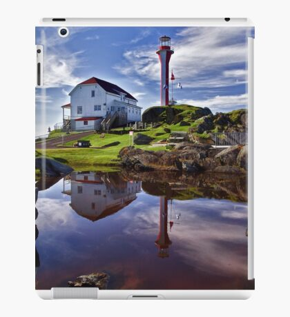 Cape Forchu Lightstation - Nova Scotia iPad Case/Skin
