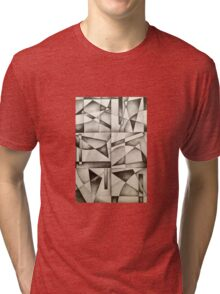 Wassily Abstract Tri-blend T-Shirt