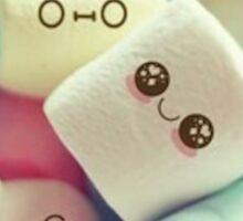 Adorable Marshmallows Sticker
