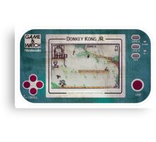 Game & Watch - Donkey Kong Jr Canvas Print