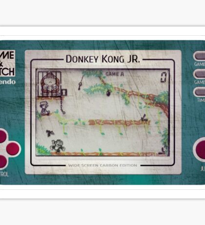Game & Watch - Donkey Kong Jr Sticker