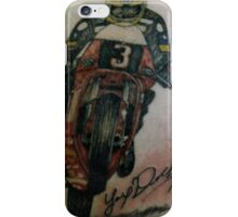 Joey Dunlop signed Tattoo iPhone Case/Skin