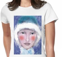 Eskimo Princess Womens Fitted T-Shirt