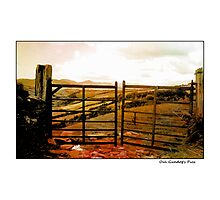 Oul Kerry Gates Photographic Print
