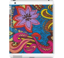 Crazy Flower iPad Case/Skin