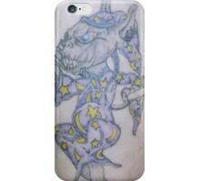 Ink wizard logo Tattoo iPhone Case/Skin