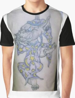 Ink wizard logo Tattoo Graphic T-Shirt