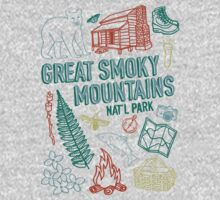 Great Smoky Mountains National Park Kids Tee
