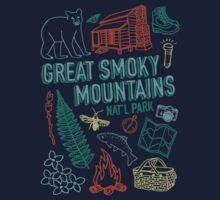 Great Smoky Mountains National Park One Piece - Long Sleeve
