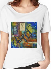 The HAPPY Artist Women's Relaxed Fit T-Shirt