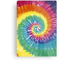 Rainbow Tie Dye Metal Print