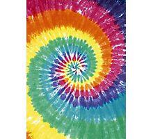 Rainbow Tie Dye Photographic Print