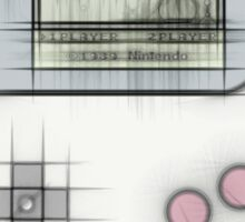 Game Boy Tetris Sticker