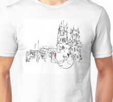 Royal Wedding - William and Kate at Westminster Abbey Unisex T-Shirt