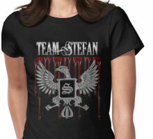 Team Stefan Blood Crest Womens Fitted T-Shirt