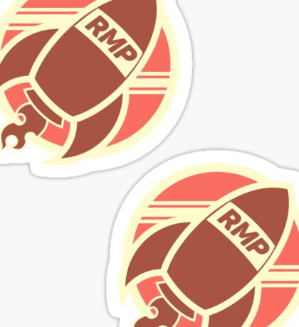 Rocket Man Props Small Logo Sticker