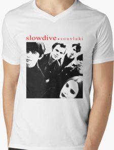 SLOWDIVE -SOUVLAKI- SHOEGAZER Mens V-Neck T-Shirt