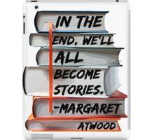 Margaret Atwood and Books  iPad Case/Skin