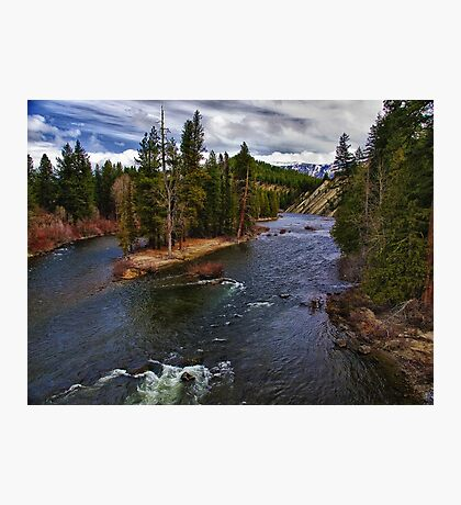 Wenatchee River - Washington Photographic Print