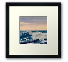 Waves, Werri Beach, NSW, South Coast, Australia Framed Print
