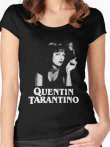 QUENTIN TARANTINO - PULP FICTION Women's Fitted Scoop T-Shirt