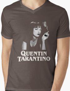 QUENTIN TARANTINO - PULP FICTION Mens V-Neck T-Shirt