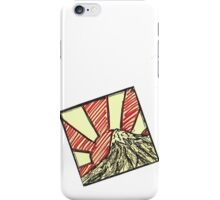 Sticky Note - Mountain Sunrise - Askew iPhone Case/Skin