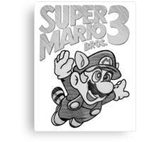 Super Mario Bros. 3 Nintendo Canvas Print