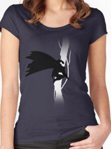 The Dark Knight Returns  Women's Fitted Scoop T-Shirt