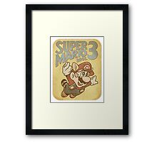 Super Mario Bros. 3 Nintendo Framed Print